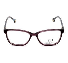 Carolina Herrera VHE 719L - Vinho/Mesclado 0W48 50mm - Óculos de Grau