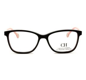 Óculos Carolina Herrera VHE 719L - Preto/Rose 700Y 50mm - Óculos de Grau