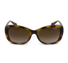 Vogue VO 2943-SB - Turtle/Marrom Degradê W656/13 55mm - Óculos de Sol