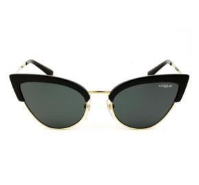 Vogue VO 5212-S - Preto/Dourado W44/87 55mm - Óculos de Sol