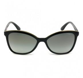Vogue VO5159-SL - Preto/Cinza Degradê W44/11 58mm - Óculos de Sol