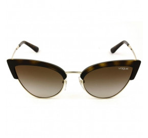Vogue VO 5212-S - Turtle/Marrom Degradê W65613 55mm - Óculos de Sol