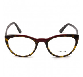 Prada VPR07V - Turtle/Vermelho 320-1O1 51mm - Óculos de Grau