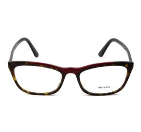 Prada VPR 10V - Turtle/Vinho 320-1O1 54mm - Óculos de Grau