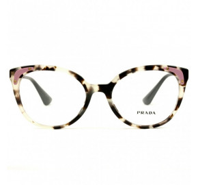 Prada VPR 12U - Turtle/Dourado UAO-1O1 53mm - Óculos de Grau