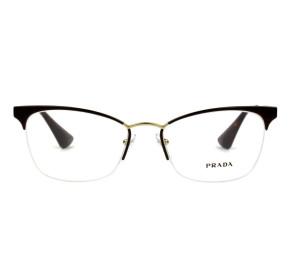 Óculos Prada VPR 65Q DH0-101 53 - Grau