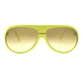 Óculos Evoke EVK 02 Ice Cream Yellow White Matte Gold Brown Gradient
